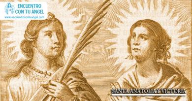 Santa anatolia y Victoria