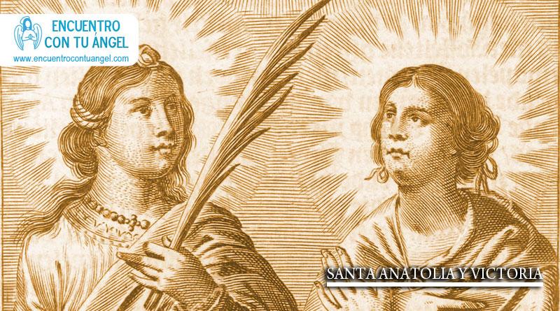 Matrimonio Catolico Virginidad : Santa anatolia y victoria encuentro con tu ángel