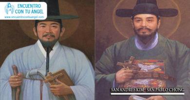 San Andrés Kim y Pablo Chong y mártires coreanos