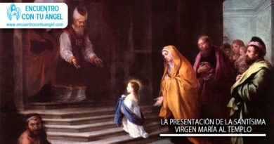 La Presentación de la Santísima Virgen María al Templo