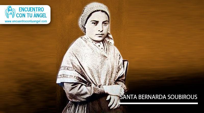 Santa María Bernarda Soubirous