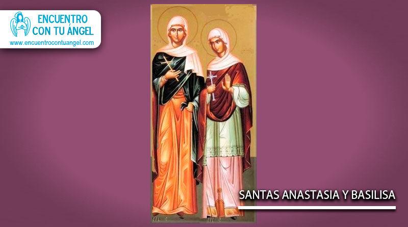 Santas Anastasia y Basilisa